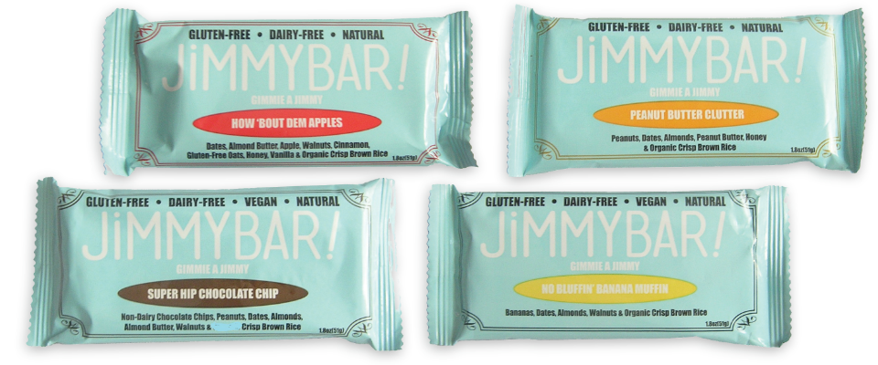 Delicious Whole-Food JimmyBars!