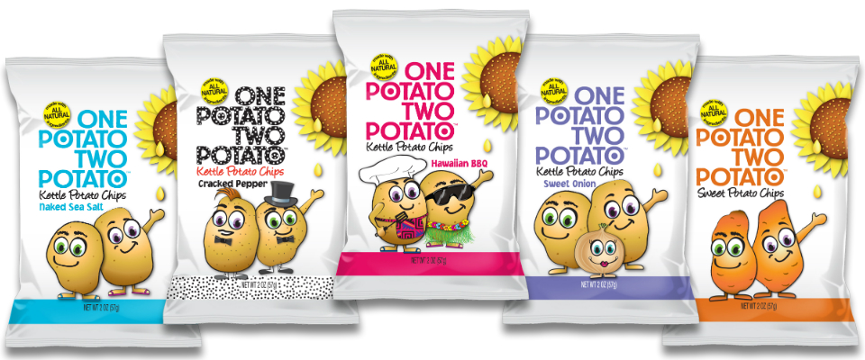Crunchy One Potato Two Potato Kettle Chips