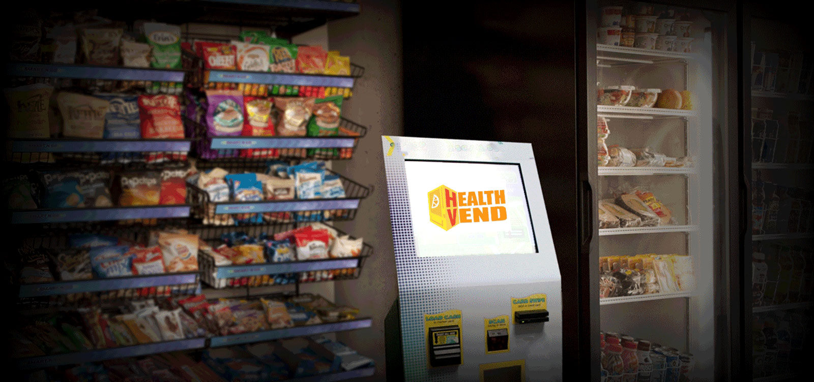 Wholesale micromarket snacks and beverages distributor Health Vend
